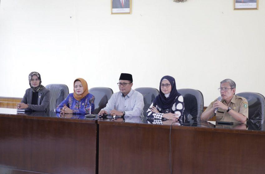 Reses Pertama, Desy Mengunjungi Dinas Pendidikan dan Kebudayaan Kota Sukabumi