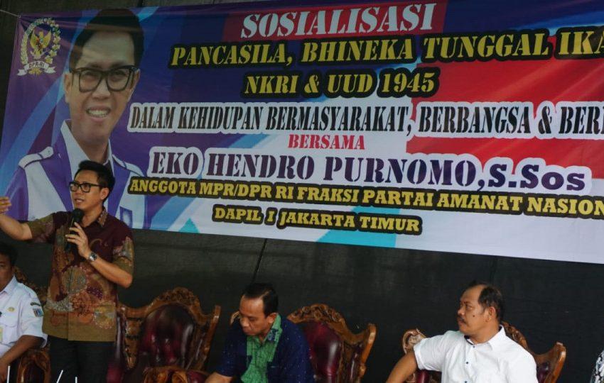 Eko H Purnomo Ajak Masyarakat Bersatu Bangun NKRI