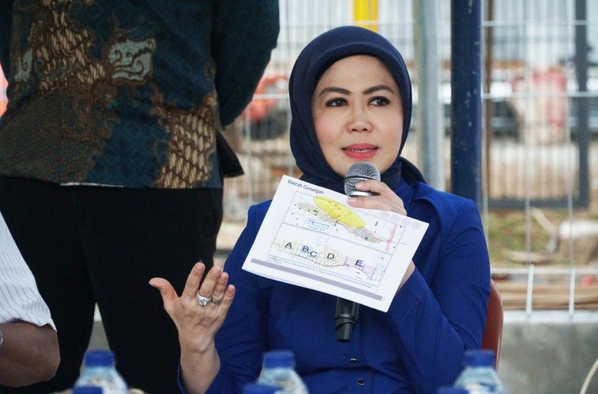 Intan Fauzi Loloskan Anggaran Rp 74,1 Miliar di Tahun 2019 Untuk Penanganan Banjir di Kota Bekasi