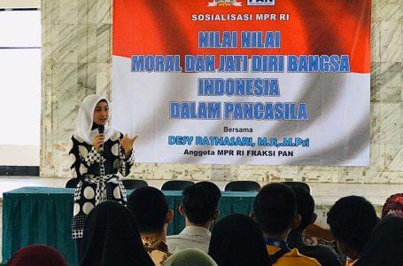 Desy Mengingatkan Pentingnya Menjaga Nilai-Nilai Moral Dan Jatidiri Bangsa Indonesia