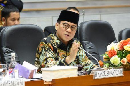 Yandri Susanto Desak Menag Tingkatkan Edukasi Prokes di Acara Keagamaan