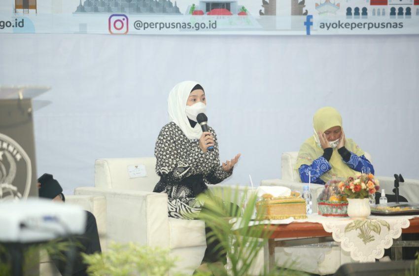 Desy Mendorong Peningkatan Indeks Literasi Masyarakat Untuk Mewujudkan SDM Unggul Menuju Indonesia Maju